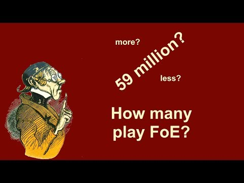 FoEhints: How many players does Forge of Empires have?
