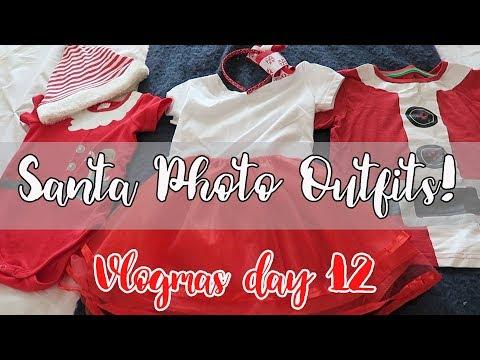 Under $20 Santa Photo Outfits | Vlogmas day 12