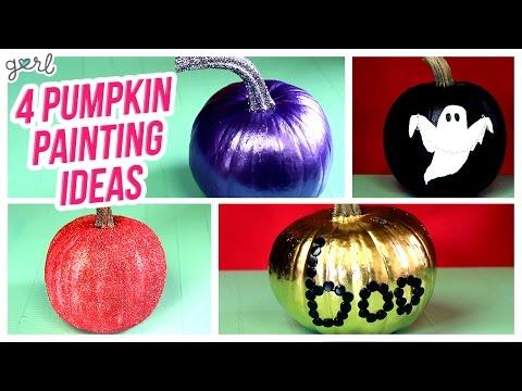 Do It, Gurl – 4 New Ways To Paint A Pumpkin