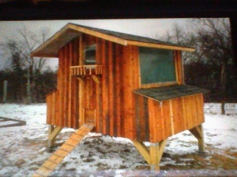 How I built My Pallet Chicken Coop