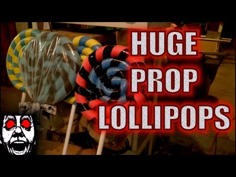 Quicky: Huge Prop Lollipops