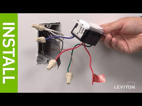 Leviton Presents: How to Install a Decora Digital DSE06 Low Voltage Dimmer