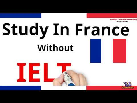 Study in France - Without IELTS