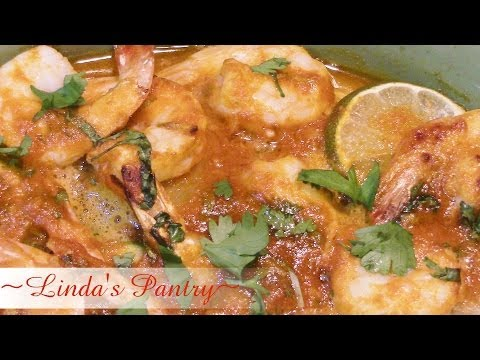 ~Garlic Butter Sriracha Lime Shrimp With Linda's Pantry~