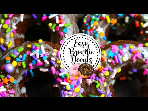 Easy Delicious Brownie donuts