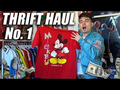 Thrift Haul No.1 | Hella Fuego