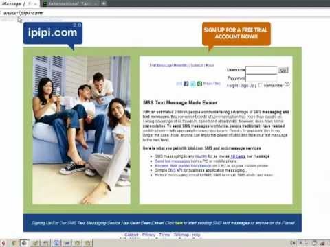 C# & vBasic.net  Sending Free SMS