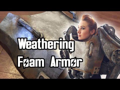 Tips on Weathering Foam Armor [T-60 Power Armor]
