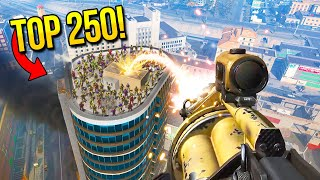 TOP 250 INSANE MOMENTS IN WARZONE