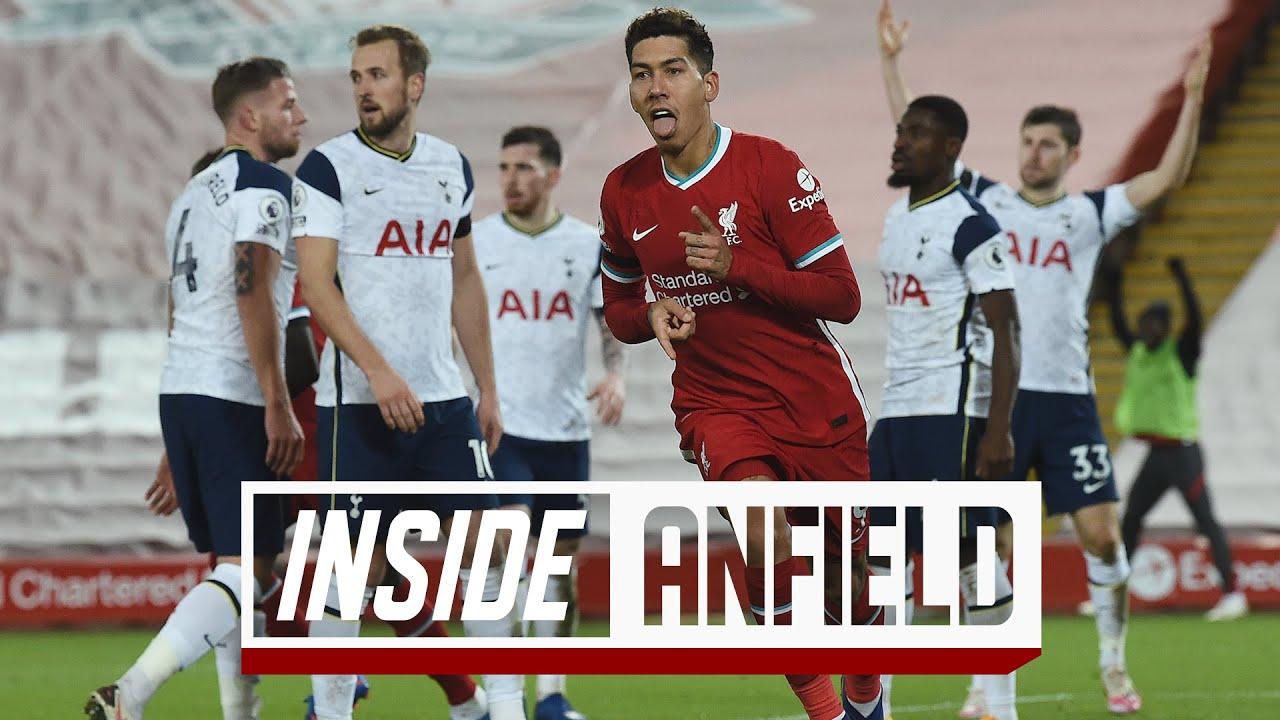 Inside Anfield: Liverpool 2-1 Tottenham | Dramatic late winner sends Reds top
