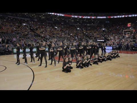 Rhythm Dance at The Raptors 2015
