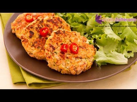 Salmon burger - quick recipe