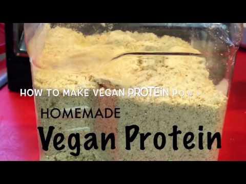 DIY Vegan Protein Powder