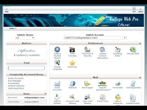 How to Reset Your Cpanel Password