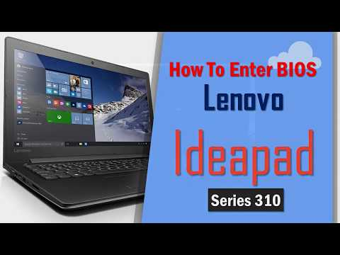 How To Enter Bios On Lenovo Idea Series Laptop