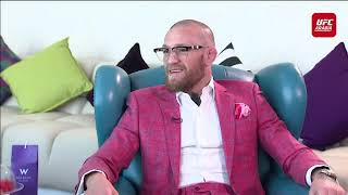 Interview with Conor McGregor - UFC Fight Island