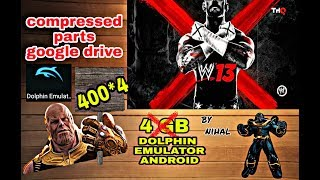 how to download dolphin emulator and wwe 13 wii iso files for free