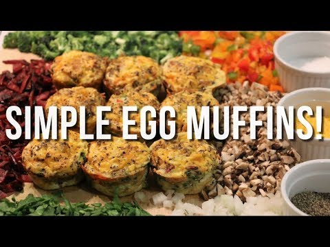 Healthy Egg Muffin Recipes!