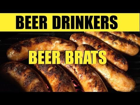 Beer Brats recipe   From the frozen tundra to your football party. Beer Drinkers Episode 30