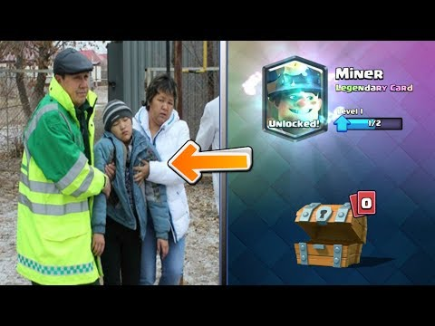 TOP 5 ULTIMATE FUNNY Reaction Of Kids After GETTING a LEGENDARY in CLASH ROYALE  CHEST OPENING #2