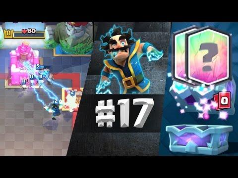 Dupla Legendary!! DRAFT CHEST! Új Deck! | Let's Play Clash Royale 17.Rész