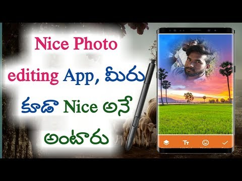 Photo editing app for village backgrounds | kiran youtube world