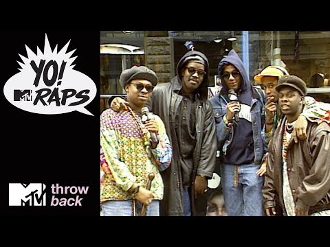 'A Tribe Called Quest & Fab 5 Freddy' Official Throwback Clip | Yo! MTV Raps | MTV