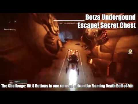 Destiny 2 - Botza Underground 'Escape!' Secret Chest