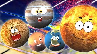 Planet Song | The Solar System Song | Preschool Learning