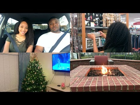 VLOG   DECORATING OUR CHRISTMAS TREE & RUNNING ERRANDS