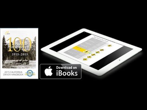 California DMV Driver License Handbook for iPad