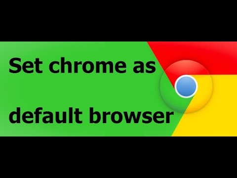 How to Make Chrome your default browser on Windows 10 | Free Windows 10 Tutorial @ TraFoo House.