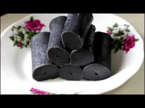 芝麻卷 Black sesame roll