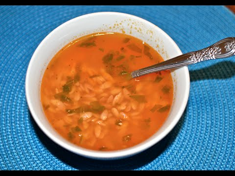 Como hacer sopa de fideo, letras, codito, estrella, caracol.
