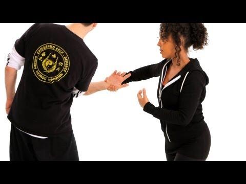 How to Escape a Wrist Hold   Self-Defense