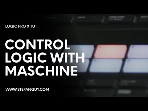 Using Maschine MK3 Transport Buttons + Pads in Logic Pro X