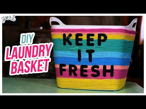 Do It, Gurl – DIY Laundry Basket