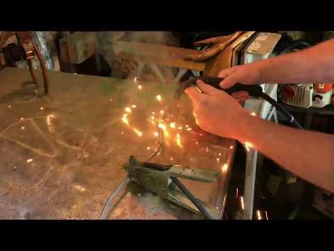 Kawasaki KLX  Motorcycle 110cc brake rod weld repair and installation