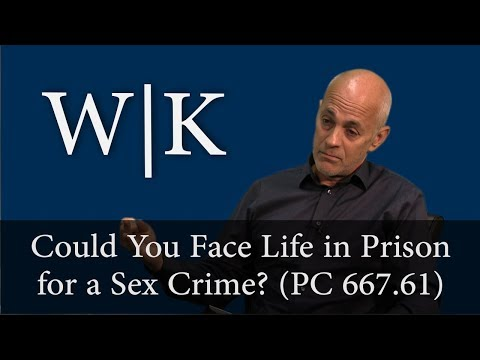 Sex Crimes Carrying Life Sentences