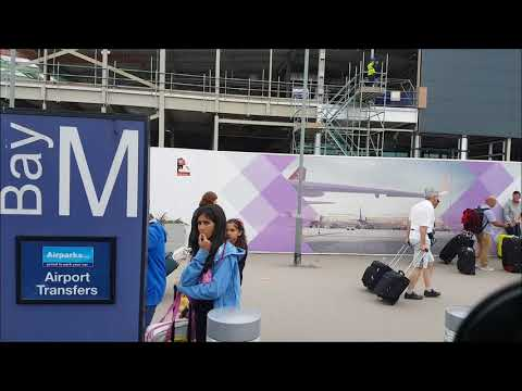 London Luton airport pickup passengers by coach operator 2017