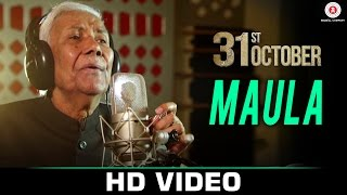 Maula - 31st October | Soha Ali Khan & Vir Das | Ustad Ghulam Mustafa Khan & Vijay Verma