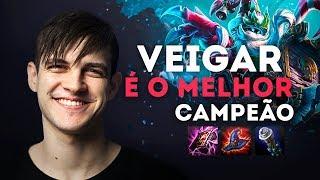 VEIGAR É O MELHOR CAMPEÃO - STREAM HIGHLIGHTS KAMI #01