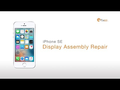 How to iPhone SE Screen Repair Guide (LCD and Digitizer/Front Panel) - Fixez.com