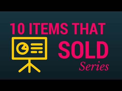 10 Items that sold for good cash - SELL THINGS ONLINE! MAKE MONEY