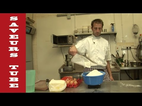 How to make Sweet Pastry with TV Chef Julien from Saveurs Dartmouth U.K.