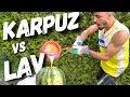 Download KARPUZUN İÇİNE LAV DÖKMEK!! (EFSANE DENEY) MP3,3GP,MP4