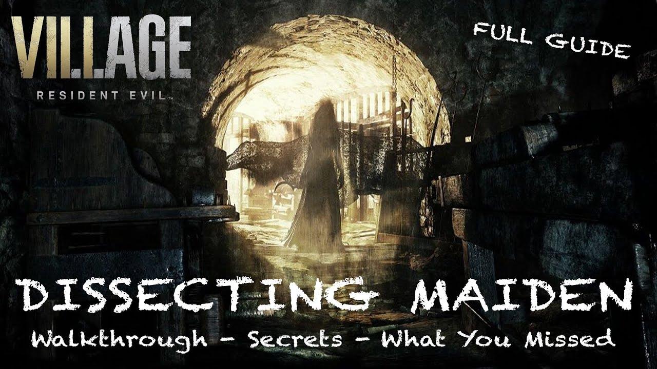 Resident Evil Village Maiden Demo | Secrets, Lore, Notes & More | FULL EDITED GUIDE