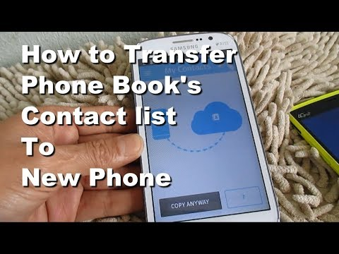 How to Transfer From Android Contact to New Android Mobile Phone