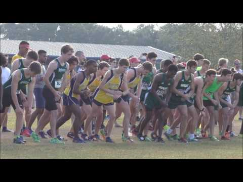 Mississippi College Cross Country ~ Choctaw Open ~ Choctaw Trails, Clinton, MS; October 15, 2016