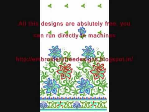 Free embroidery designs - Embroidery Free designs